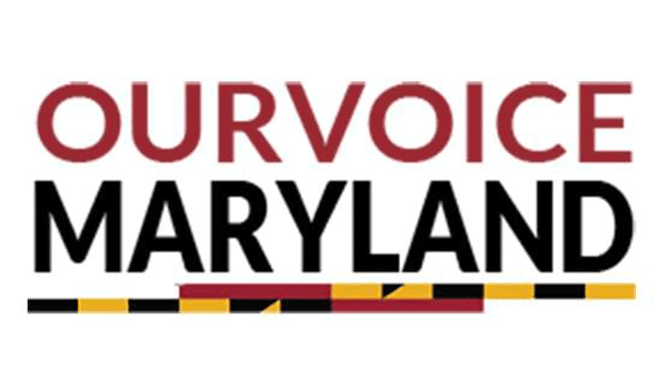 Our Voice Maryland logo
